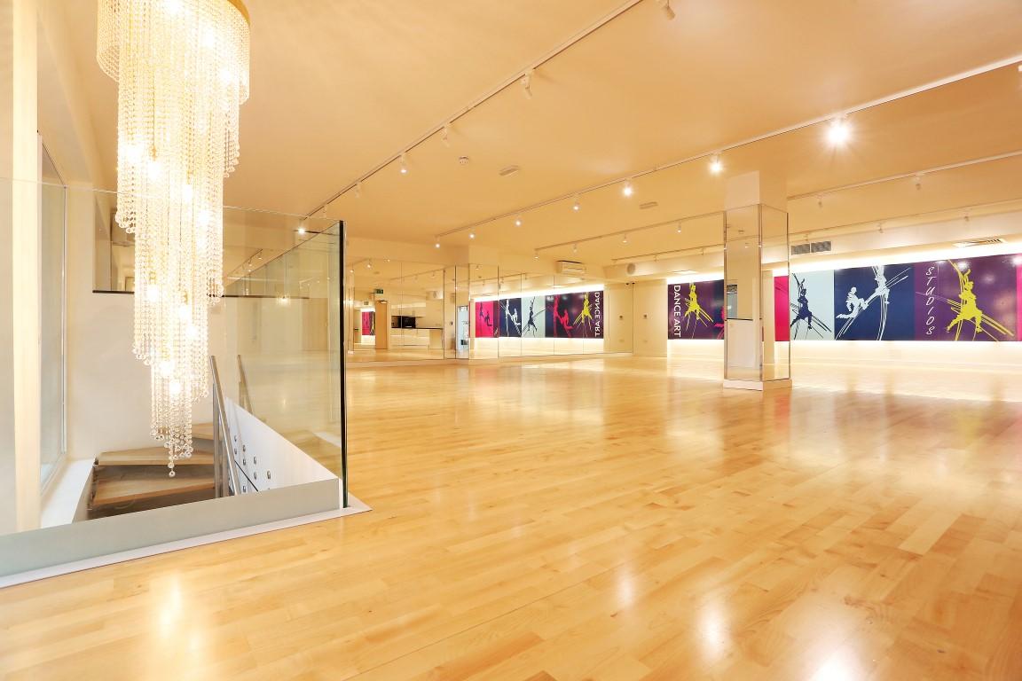 London Dance Studio Refurbishment Barnes Interiors Ltd