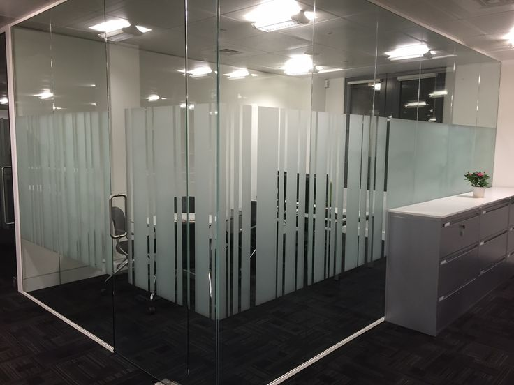 Glass Partition Installation Lloyds Banking Group | Barnes
